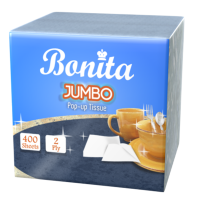 Bonita Jumbo Pop Up 2-Ply 400 Sheets