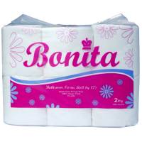 Bonita Tissue 2-Ply 300 Sheets by 12s